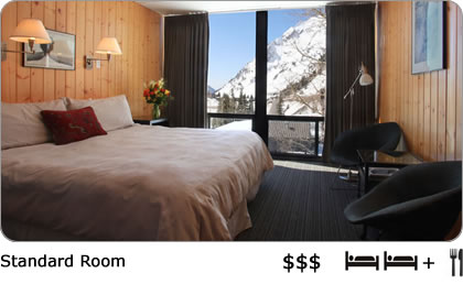 Large room with King Bed in Alta Ski Area.