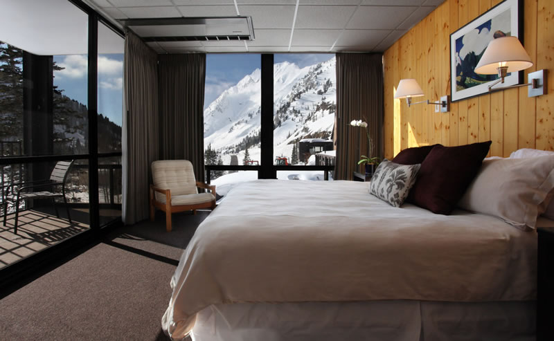 hotels with a fireplace in room. Corner Room with Fireplace  Balcony Alta Lodge Utah Ski Hotels Vacation Lodging