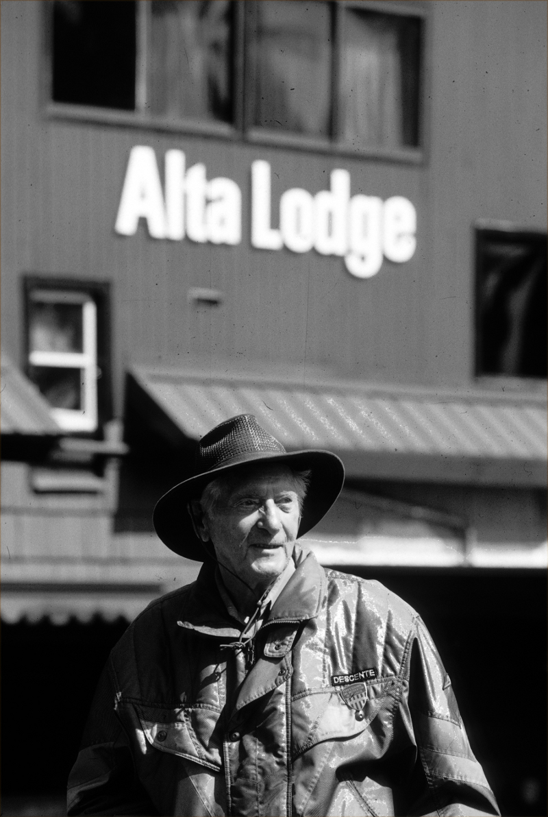Bill Levitt, the original owner of the Alta Lodge and Mayor of the Town of Alta.